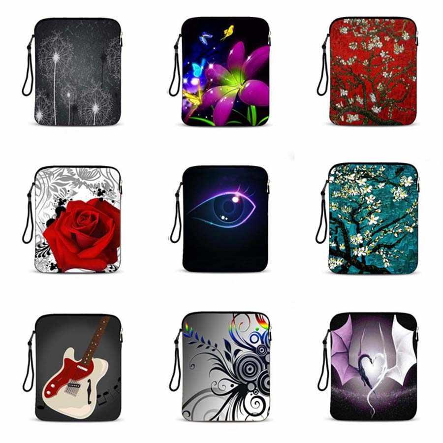 الصلصال طباعة 9.7 بوصة واقية كم حقيبة لابتوب حقيبة تابلت الحقيبة دفتر حالة غطاء ل ipad الهواء 2 ل ipad pro 9.7 IP-5022