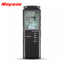 NOYAZU T60 Digital Audio Voice Recorder 16GB Dictaphone Original Voice Recorder USB Professional 96 Hours Mp3 Player A-B Repeat цена