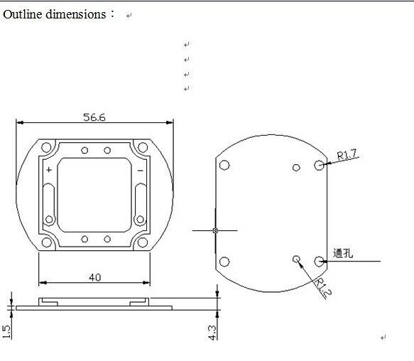 Պրոյեկտորային թեթև բարձր էներգիայի - Լուսավորության պարագաներ - Լուսանկար 3