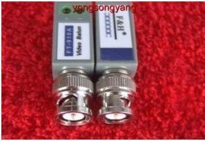 UTP 1 channel Video Balun BNC Balun Transceiver 50 pair