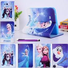 HOT! luxury children Tablet Silicon Case cover For Samsung Galaxy Tab 3 7.0 Lite T110 T111 T113 Tab E 7.0 Lite T116 leather case