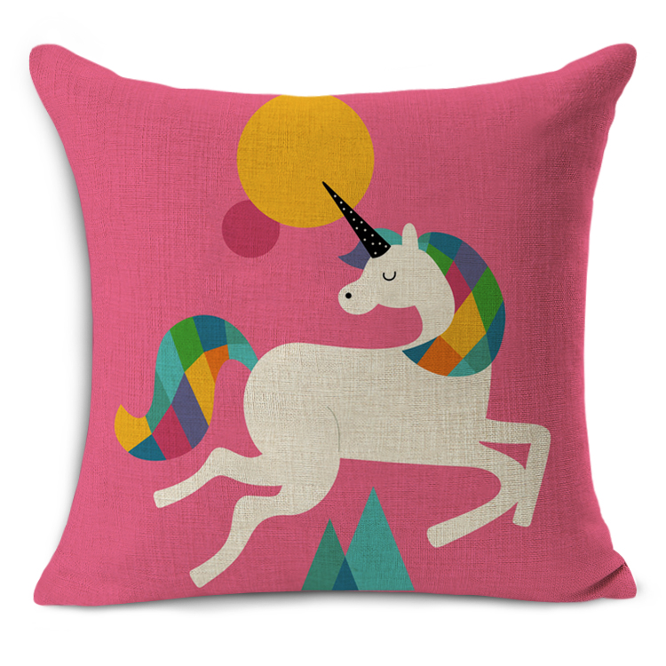 Cute Lion Pillow : cute horse/rabbit/lion Cushion Pillow Almofadas Para Sofa Cushion Decorative Pillow Home Decor ...