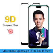 Glass For Huawei Y5 Y6 Y7 2017 full protective glass Y9 2018 screen protector Prime