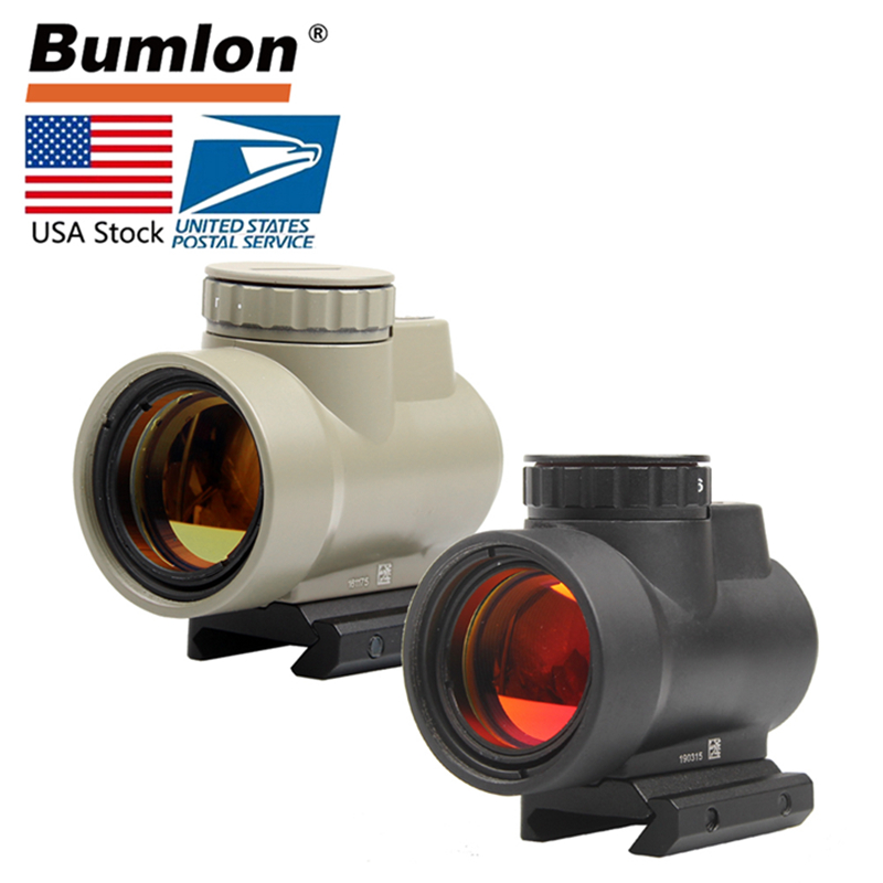 Tactical MRO Style 1x Red Dot Sight 8 Brightness Settings Scope Scope Hunting Riflescope Mount 20MM RL5-0036