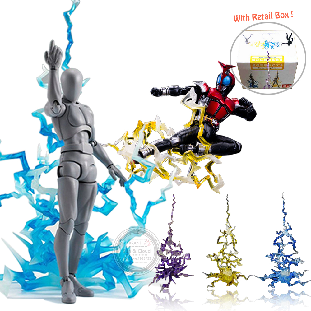 Soul Flashing Special Effects Lightning Impact For Action Figure Toy Accessory Model Fit One Piece Dragon
