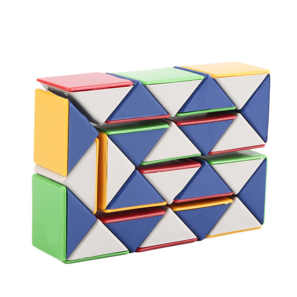 Puzzles & Games Magic Cubes Bright 2017 Cool Snake Magic Variety Popular Twist Kids Game Transformable Gift Puzzle Z727