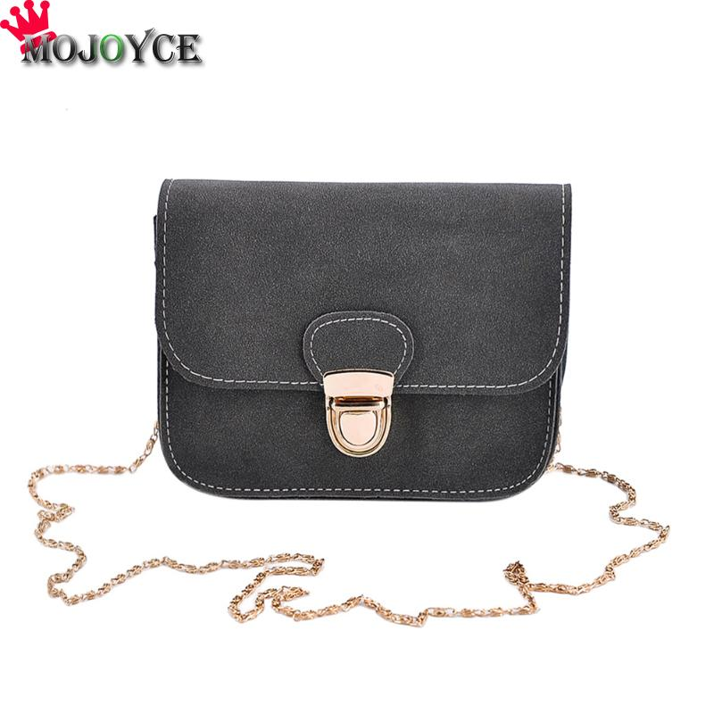Retro Women PU Leather Chain Crossbody Bag Pure Mini Square Shoulder Handbag Vintage Female Solid Casual Smalll Messenger Bag vintage fashion letter book shape pu purse daily clutch bag ladies shoulder bag chain handbag crossbody mini messenger bag