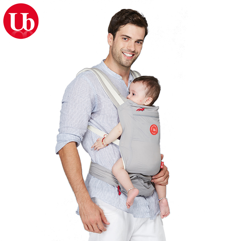 UBELA Ergonomic Baby Carrier Portable Nylon Infant Baby Bag Baby Kangaroo Backpack Carriers Sling with Organizer for Baby Stuff|ergonomic baby carrier|baby kangaroobaby carrier - title=