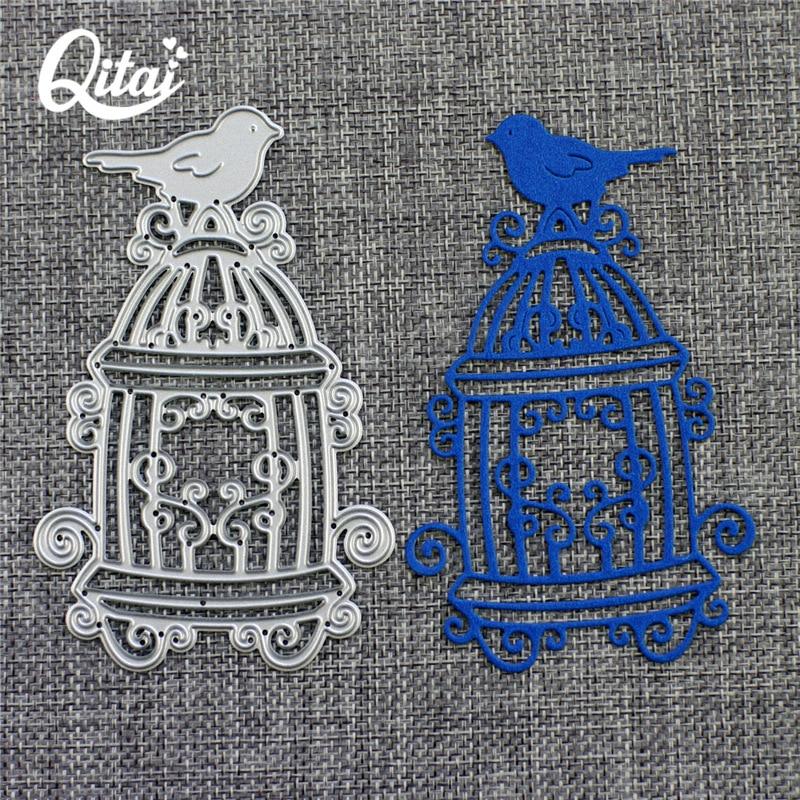 QITAI Πουλί Birdcage Shape Metal κοπής μοντέλο - Τέχνες, βιοτεχνίες και ράψιμο - Φωτογραφία 3