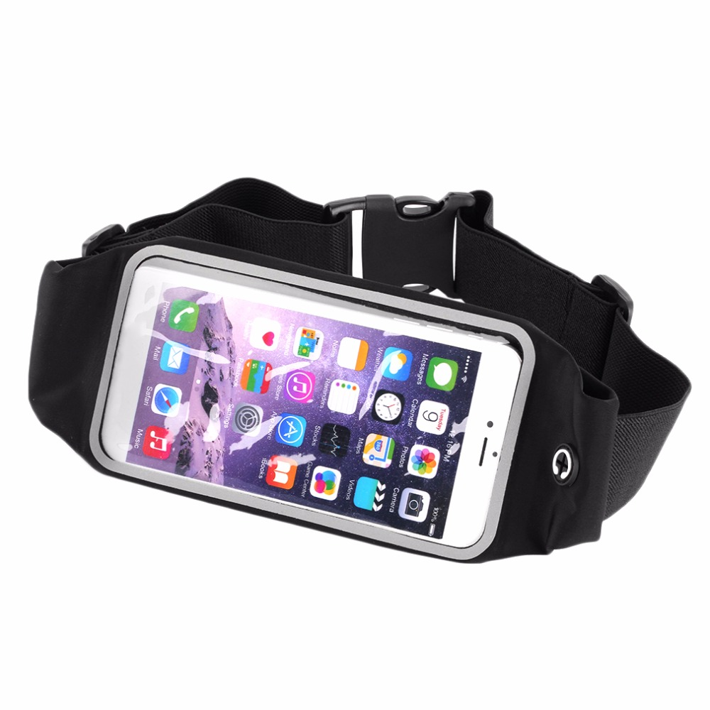 Mini Fanny Pack For Women Men Portable Convenient USB Waist Pack Travel Multifunctional Waterproof Phone Belt Bag
