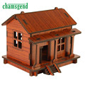 DIY House 3D Puzzle Toys Wooden Adult Children Intelligence SEP 22