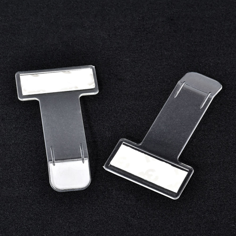 Image 2 - Auto Ticket Folder Mini T shape Transparent Folder Holder Car Mount Style Accessories Stuff  Interior Stickers Front Windshield-in Car Stickers from Automobiles & Motorcycles