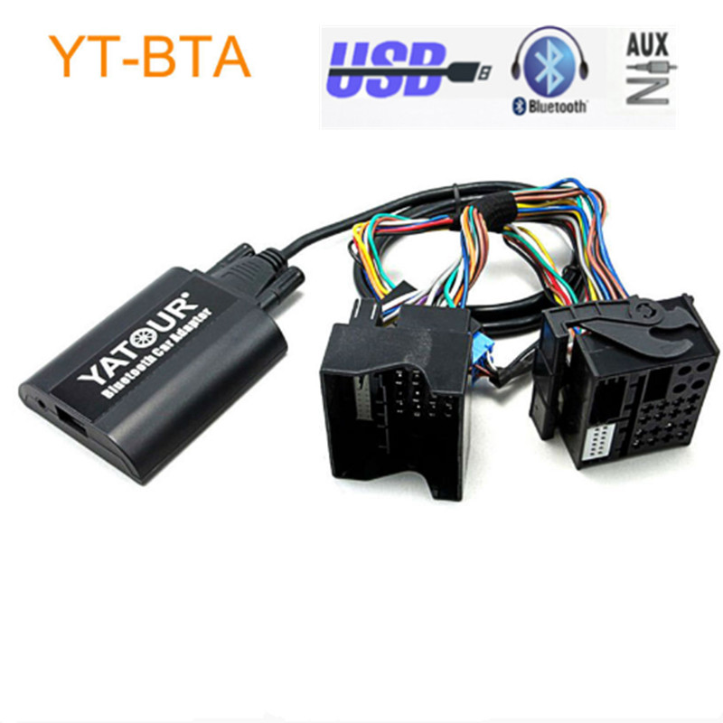 Newst!Yatour BTA Car Bluetooth Adapter Kit for Factory OEM Head Unit Radio for Renault Megane 3 Scenic Laguna Traffic from 2009 car usb sd aux adapter digital music changer mp3 converter for skoda octavia 2007 2011 fits select oem radios