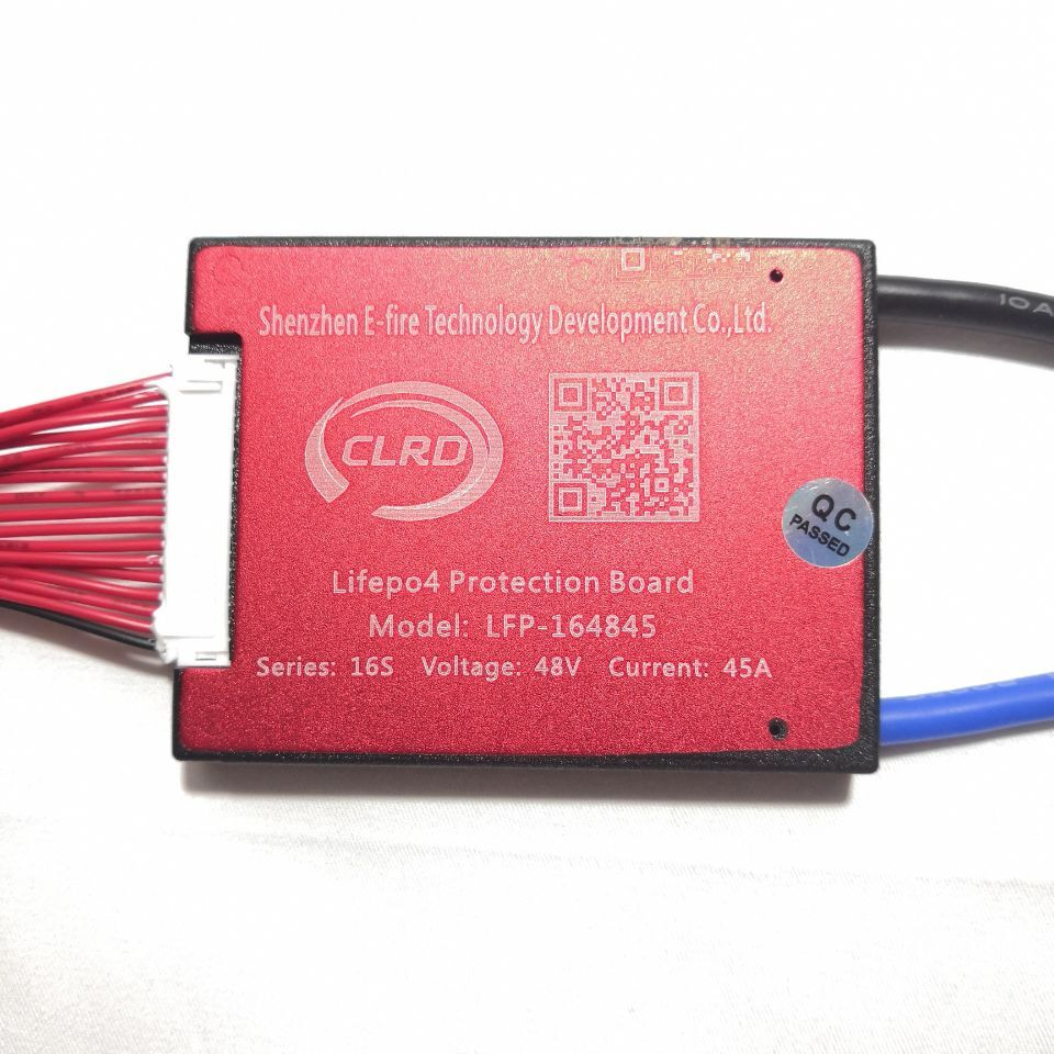 16S 48V 20A 25A 35A 45A 60A  BMS Battery Management System PCM PCB For Lifepo4 Battery Pack With Balance
