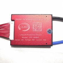 16S 48V 20A 30A 40A 50A 60A ระบบจัดการแบตเตอรี่ BMS PCM PCB สำหรับ Lifepo4 แบตเตอรี่ BALANCE