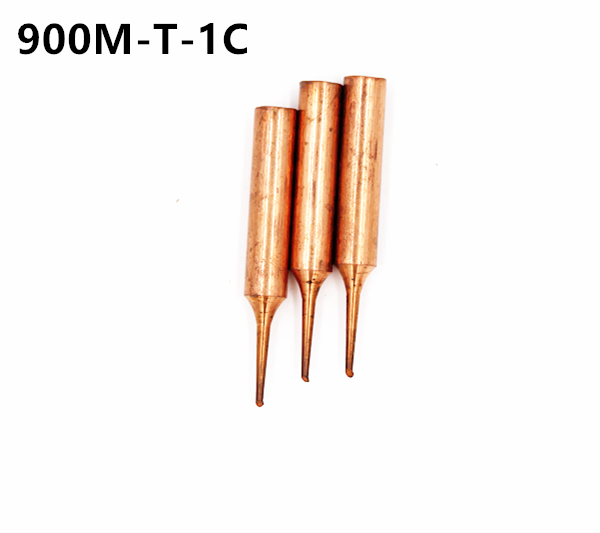 900M-T-1C Copper Replacement Bevel Style Soldering Iron Solder Tip Lead-Free~