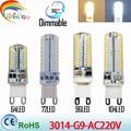 Lowest price  LED Bulb SMD 2835 3014 LED G4 G9 LED lamp 7W 9W 10W 12W led Light AC220V 360 Degree Replace Halogen Lamp