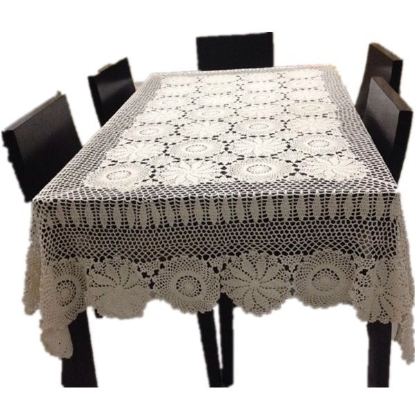Awesome Handmade Crochet Tablecloth Crochet Flower Tea Table Cloth Best Image Libraries Sapebelowcountryjoecom