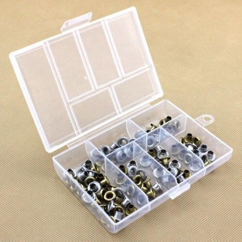 Горячие Портативный Пластик 6-отсек для хранения контейнер маленькие Дело Box Прозрачный