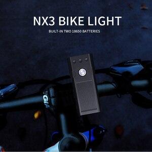 Image 5 - TRLIFE 5200mAh Bicycle Light 3*L2/T6 USB Rechargeable Bike Lamp IPX5 Waterproof LED Headlight as Power Bank MTB Bike Accessories