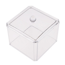 Ultra-transparent Jewelry Storage Box Clear Makeup Cosmetic Organizer Case Drawers Good Packing