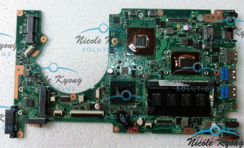 100% work 90R NTDMB1400Y i5 3317U /i7 3517U GT 645M with 1GB DDR3 non integrated motherboard Logic Board for Asus ZenBook UX52VS