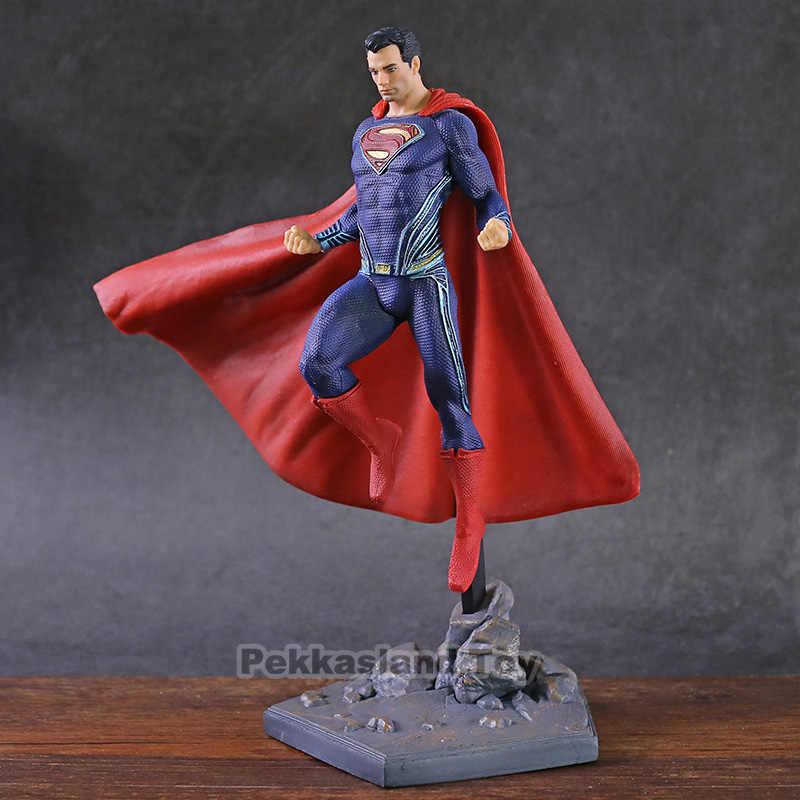 Estúdios de ferro Superman Liga Da Justiça DC Super Hero PVC Estátua Figura Collectible Toy Modelo