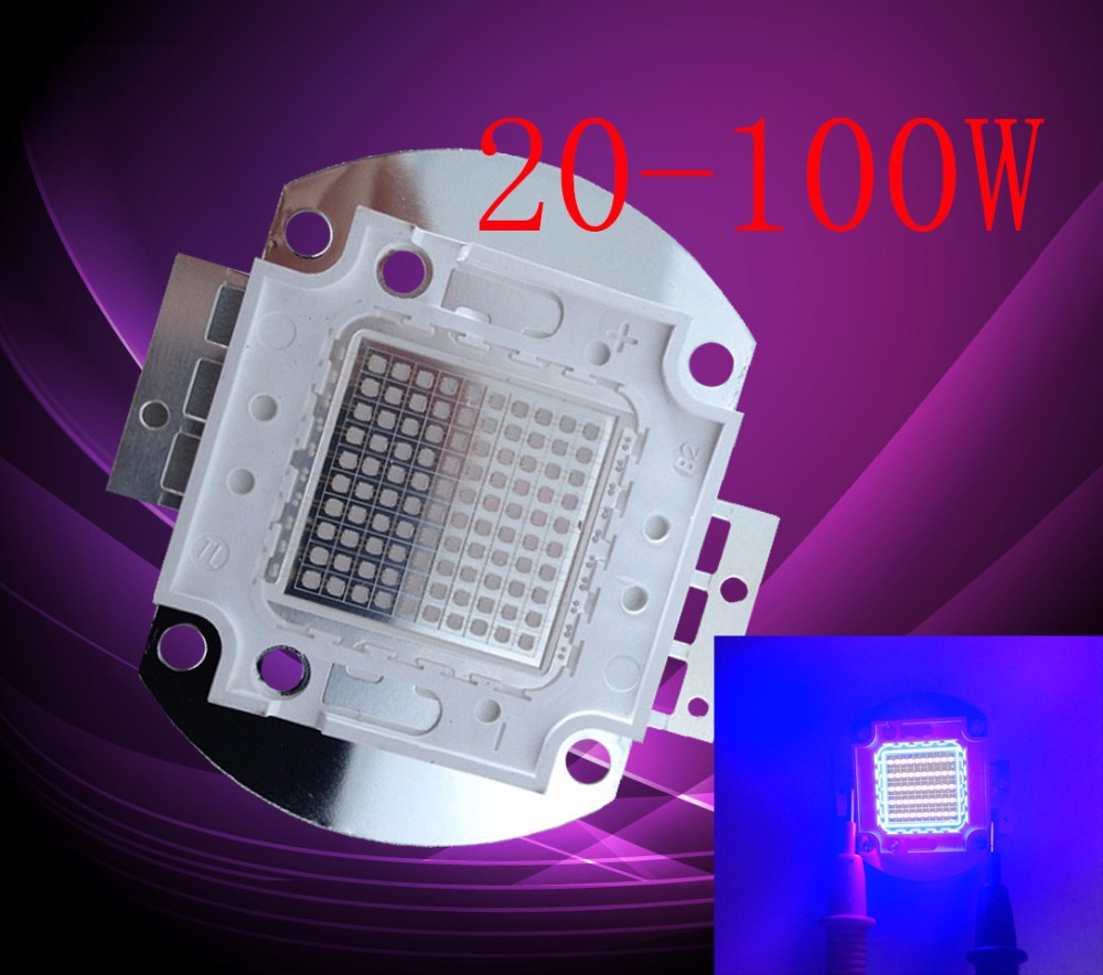 UV led large purple light integrated lamp chip 10W 20W 30W 50W 100W 395-400 highlight integrated lamp