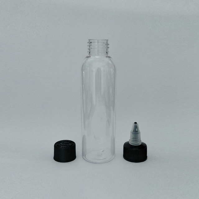 799274dfa93b US $44.0 |4oz/120ml 100ml 60ml 30ml empty plastic bottle , clear pet bottle  withTwist Top Caps, bottles with pointed mouth top cap-in Refillable ...