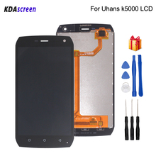 Original 5.0 inch For Uhans K5000 LCD Display Touch Screen Assembly Phone Parts For Uhans K5000 Screen LCD Display Free Tools