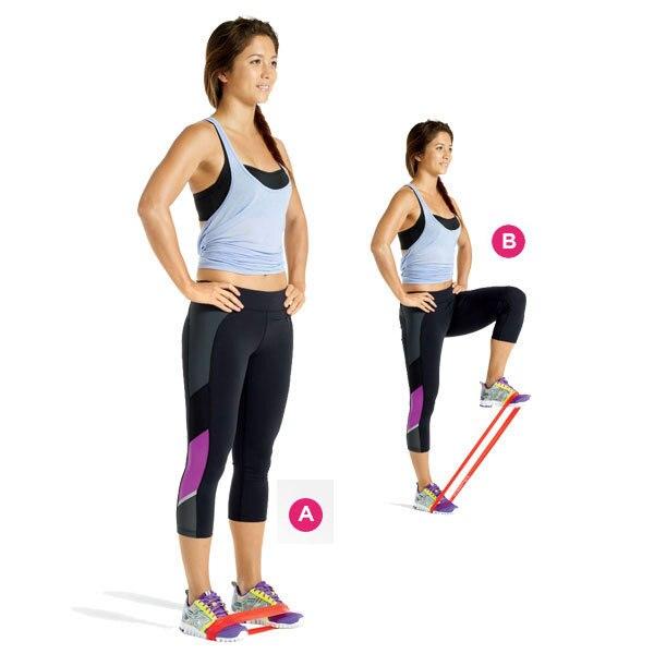 μπλε ζώνη γιόγκα ζώνη άσκηση αντοχή - Fitness και bodybuilding - Φωτογραφία 4