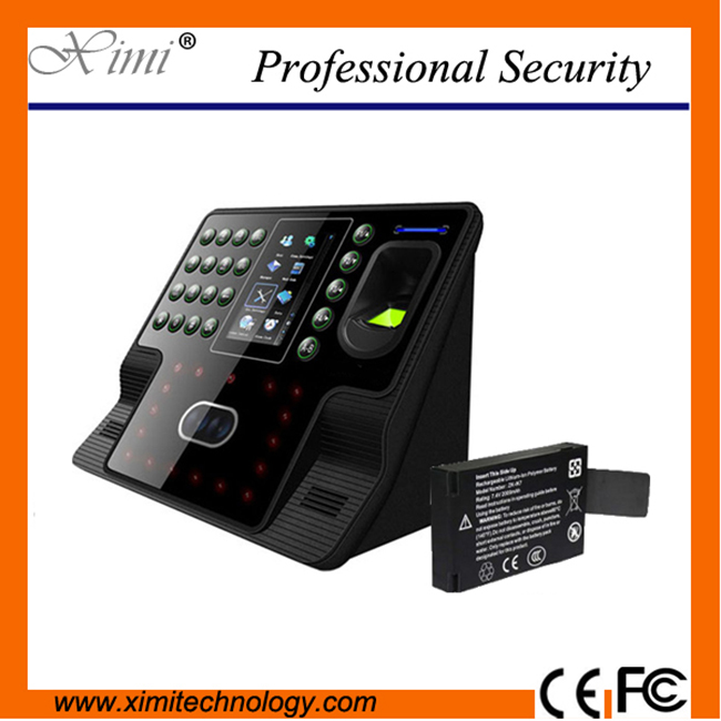 Free shipping linux system 200 face user  touch screen fingerprint reader face time attendance system employee time recorder