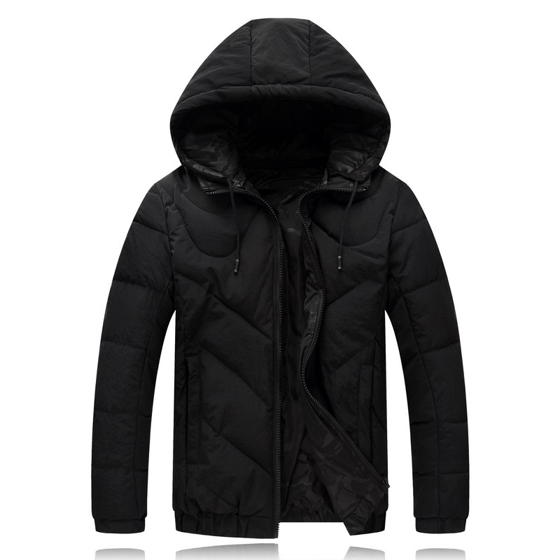 4XL-9XL Winter Jacket Men Double Side Wear Black Male Coat Cheap Down Jacket   Parkas   Hooded Windbreaker Snow Cold Jacket 8001