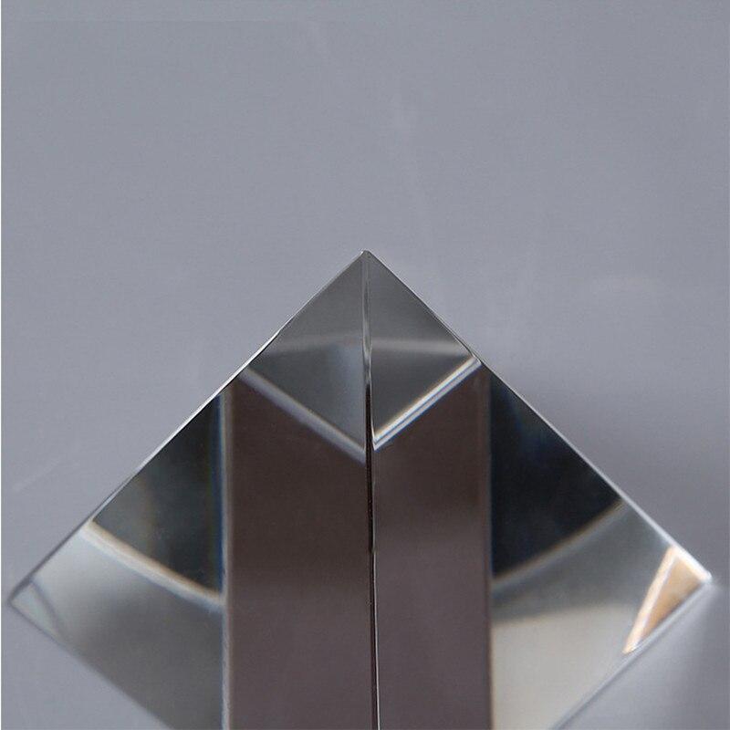 6CM K9 AAA Кварц Кристалл Шыны Пирамида - Үйдің декоры - фото 4