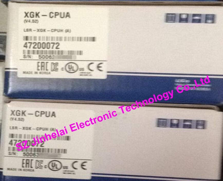 100% New and original  XGK-CPUA  LS(LG)  CPU UNIT  32K step, I/O point:3072 dhl ems 5 lots new original phi ls original laser unit for cdm12 1 vam1201 vam1202 e1