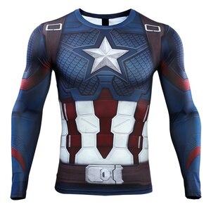 Image 2 - Мстители: эндшпиль, костюм, колготки, Капитан Америка, футболка, Steve Rogers, лучшие костюмы, косплей, супергерой Marvel, Хэллоуин, вечерние реквизит