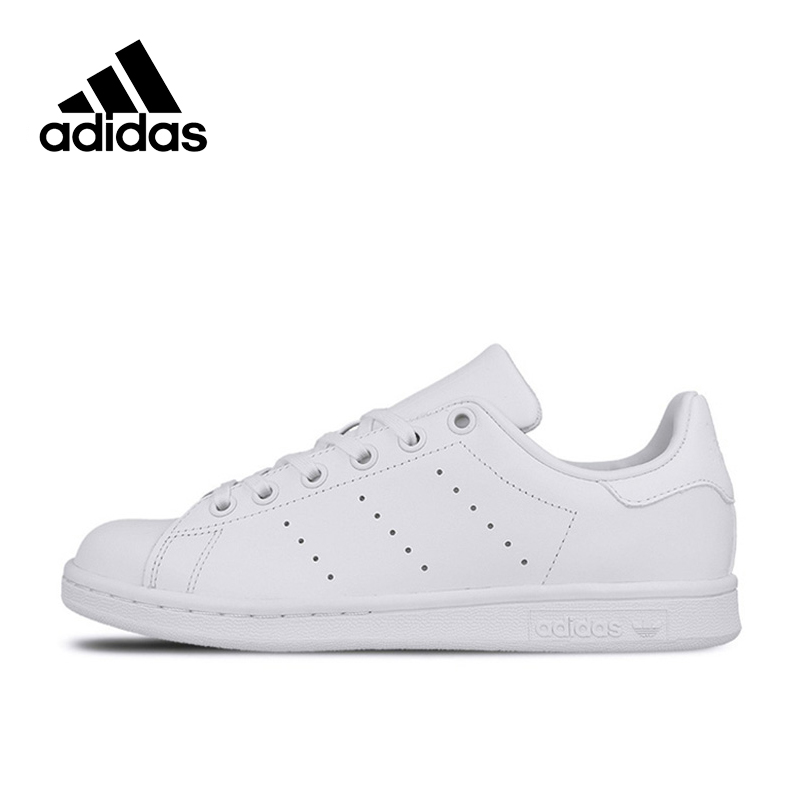 Genuine Adidas Sneakers New Originals Sports White Women's Skateboarding Shoes Summer Low-tops Adidas Women Sneakers adidas samoa kids casual sneakers
