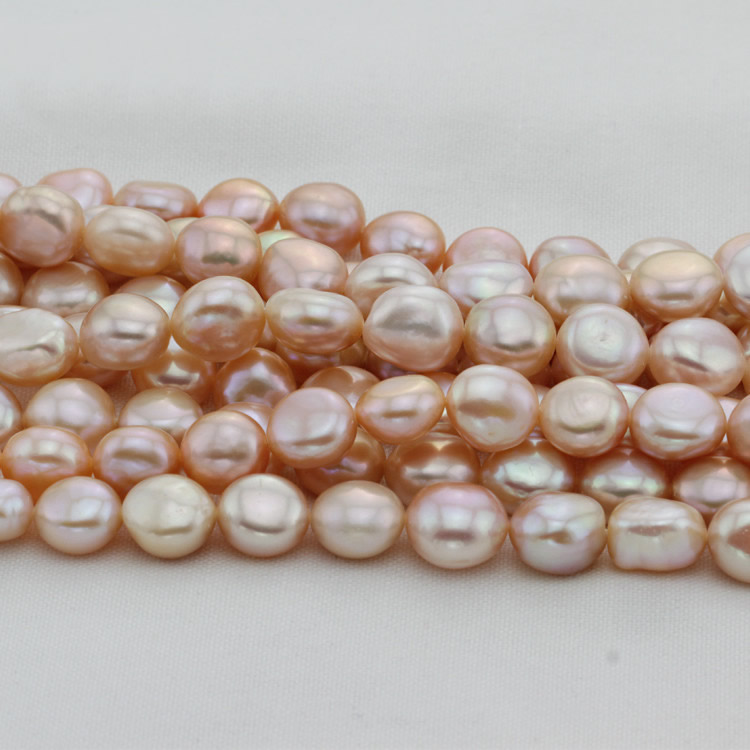 Baroque Cultured Freshwater Pearl Beads,Birthday Gift, natural, pink, 12mm, Hole:Approx 0.8mm, Sold Per Approx 15.5 Inch Strand wholesale mix color volcanic rock natural lava beads hole approx 1mm length approx 61 inch 4 6 8 10 12 12mm