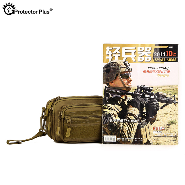PROTECTOR PLUS Multipurpose Handbag Men Tactical Molle Messenger Bag Waterproof Military Camo Climbing Travel Waist bag Sports 6