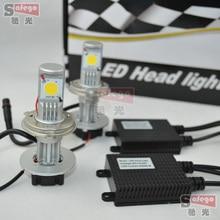 10sets 50W Auto LED Headlamps/Auto 50w led h4 h4 led headlight high power h4 50w cree