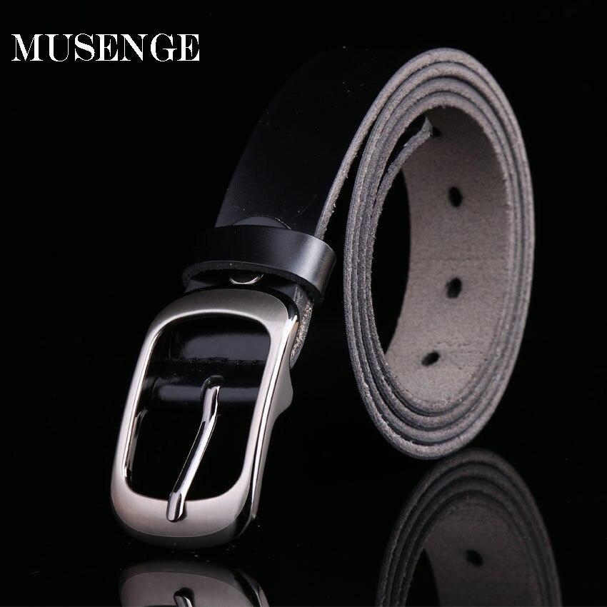 580d793b6 Belt Designer Belts Women High Quality Ceinture Femme Genuine Leather Belts  For Women Pin Puckle Black Solid Cinturon Mujer Hot