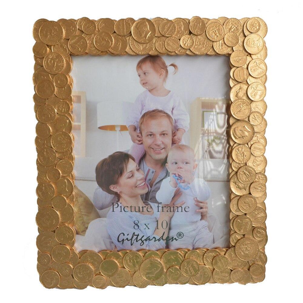 8x10 Münzen Kanten Rahmen Für Foto Einzigartige Bilderrahmen ...