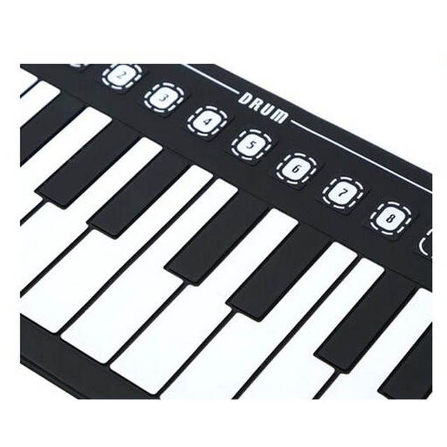 Piano Keyboard Kids With Horn And Fold Electronics Children