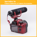Camera Microphone RODE Go On-Camera Shotgun for Canon Nikon SLR Camera Mic VideoMic Go Video Microphone
