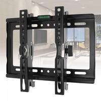25 кг 14-42 дюймов регулируемый стальной ТВ настенный кронштейн плоская панель телевизионная рамка поддержка 15 градусов угол наклона для ТВ ЖК...