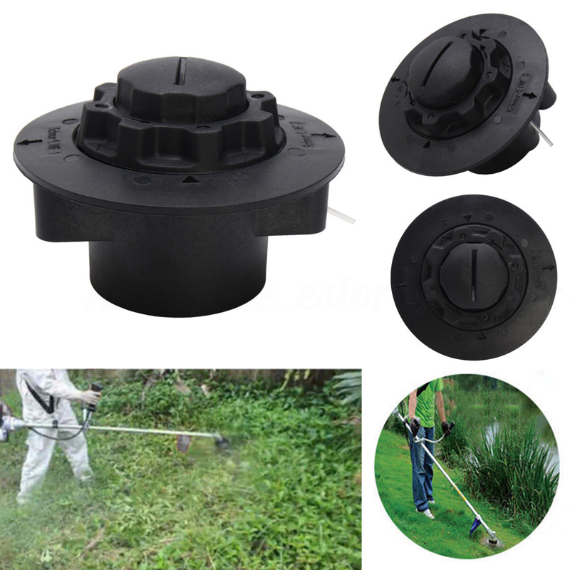 Grass Strimmer Trimmer Head Lawn Mower Nylon Line Replacement Brush Trimmer Head for Garden Tools aluminum grass trimmer head with 4 lines brush cutter head thread nylon grass cutting line head for strimmer replacement
