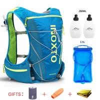 8L гидратационный жилет для бега, рюкзак для мужчин и женщин, для велосипеда, для улицы, спортивные сумки, Trail Marathon, для велоспорта, пешего тури...