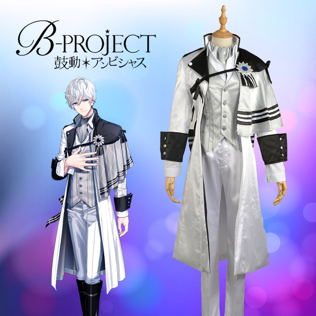 W0968-2 juego virtual Idol grupo b-proyecto kitakore kitakado tomohisa  stage Cosplay Custom 08a2e8416d39