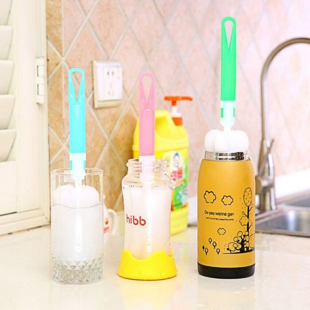 Baby Bottle Brushes for Cleaning Kids Milk Feed Bottle Nipple Pacifier Nozzle Spout Tube Cleaning Brush Sets Bottle Brushes