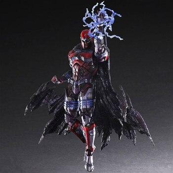 26CM Anime figure The avanger X-man Max Eisenhardt Magneto action figure collectible model toys for boys